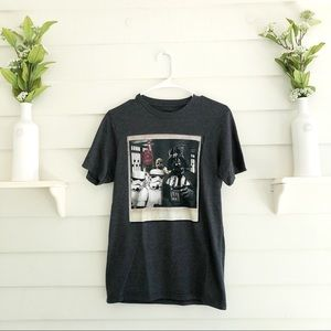 Star Wars-Polaroid Picture Graphic Tee